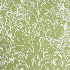 Wild Flowers - Green - Wallpaper