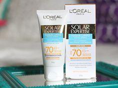 Protetor solar com cor: L'Oreal Solar Expertise FPS70