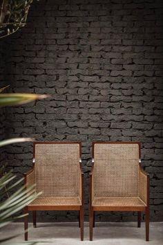Interior design by Quincoces Drago & Partners Cane Furniture, Furniture Logo, Rattan Furniture, Furniture Making, Modern Furniture, Barbie Furniture, Furniture Design, Garden Furniture, Rustic Furniture