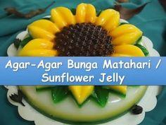 Resep dan Cara Membuat Agar-Agar Bunga Matahari - Sunflower Jelly #NyokMasak http://youtu.be/eTGI3pSJru8
