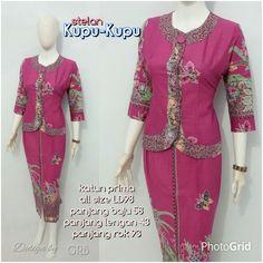 42 Best Blus Batik Modern Terbaru Images On Pinterest Model Baju