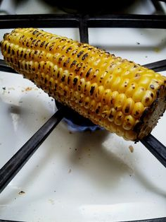 How to grill corn if you dont have a grill video tutorial have you tried roasting the corn on top of the gas stove plus a recipe ccuart Image collections