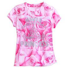 Disney Princess Text Tee for Girls   Tees, Tops & Shirts   Disney Store