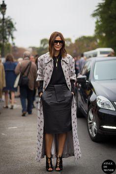 Paris FW SS14 Street Style: Christine Centenera » STYLE DU MONDE | Street Style Street Fashion Photos