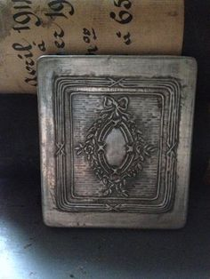 French card case.  FleaingFrance Brocante