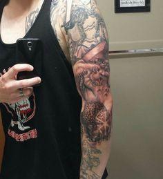 Berserk Tattoo Sleeve