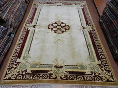 "Vintage Turkish Rug 6'2"" x 9' Bohemian Decorative Rug Pure Wool Color's are Vegetable dyed Handmade Floor Rug Area Rug"