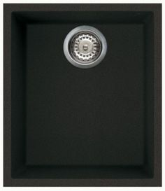 Reginox Quadra 100 Undermount Compact Granite Sink Black