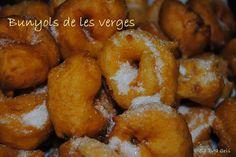 SA TITA CRIS: BUNYOLS DE PATATA I BONIATO (MOSTRA DE CUINA BALEAR) Menorca, Onion Rings, Empanadas, Desert Recipes, No Bake Desserts, Pretzel Bites, Sweet Recipes, Deserts, Bread