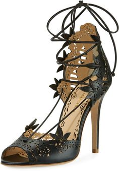 Marchesa Clara Cutout Strappy Dress Sandal