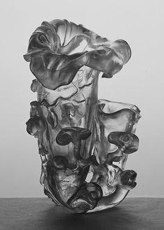 Double vase - 18th century China - rock cristal.