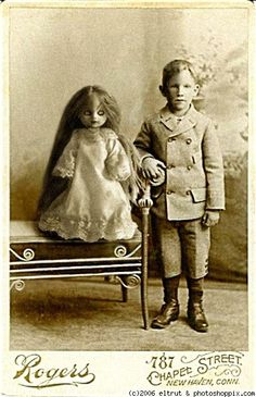 old photo - a little scary -no, no, a lot scary.