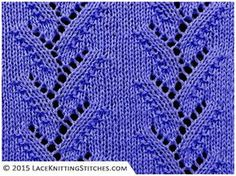 #LACE KNITTING No.22 | Foliage Lace