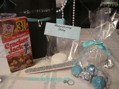 Breakfast at Tiffany's party favor