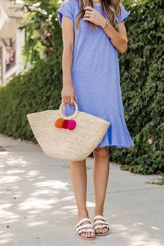 merricksart.com | Summer T-Shirt Dress