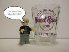 Shot Glass bar Las Vegas Nevada hard rock cafe hotel casino souvenir gift new