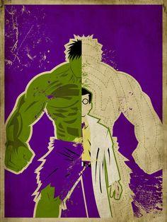 Minimalistic Hulk