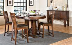 Intercon Hayden Dining Gathering Table | Furniture Market, Austin, Texas
