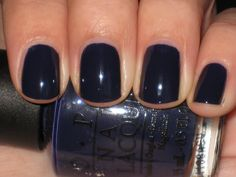 """OPI's, """"Roadhouse Blues"""".  A great go-to fall/winter color."""