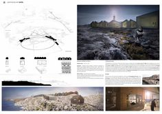 E Members: Florian Liakos, Irene Helen Marcantonatou, Alexis Visvinis Lighthouse Art, Presentation Layout, Young Designers, Proposals, Irene, Competition, Layouts, Places To Visit, Sea