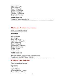Retete pentru masina_de_paine Basil