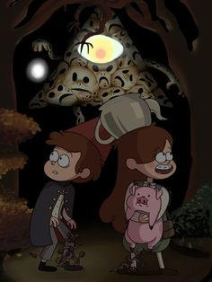 This crossover is everything… (Gravity Falls/Over the Garden Wal Gravity Falls Crossover, Gravity Falls Au, Fandom Crossover, Dipper Y Mabel, Mabel Pines, Dipper Pines, Cartoon Cartoon, Bill Cipher, Teen Titans