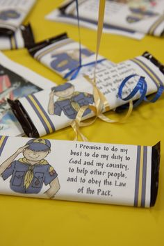 blue and gold banquet themes | blue & gold cub scout banquet idea.