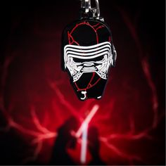 """Celebrate the release of """"The Rise of Skywalker"""" with this enamel Kylo Ren keychain available from @amazon -amazon.com/dp/B07Z43L4Y9 . . . #starwars #riseofskywalker #kyloren #kylorenkeychain #kylorenhelmet #starwarskeychain #starwarscollectible #starwarsaccessories #episodeix #episode9 #episode9collectible #salesonestudios"""