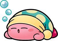 Sleepy Kirby - Kirby Super Star Ultra
