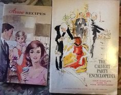 Two drink recipe booklets - 60s or 70s Era #ArrowHeubleinandCalvert