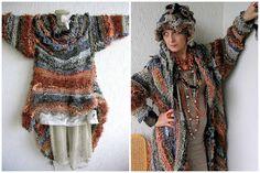 Little Treasures: Inspiration Monday: Mizzie Morawez - a Freeform Crochet Poetess