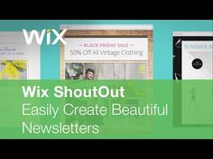 Introducing Wix ShoutOut: The Easiest Way to Send Newsletters & Updates!