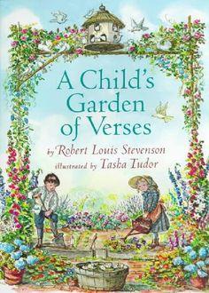 A Child's Garden of Verses - Illustrated by Tasha Tudor