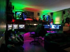 Kasey C didn't stop at one setup - he built an entire gaming den! #SetupSaturdaySunday TAG Battlefield in pictures of your setup for a chance to be featured.