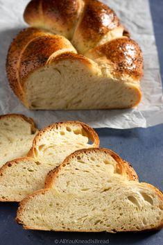 Sourdough Challah Recipe, Challah Bread Recipes, Sourdough Recipes, Bread Baking, Bakery, Easy, Favorite Recipes, Bread Puddings, Sicilian Food