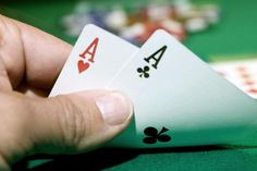 These Are the 10 Best Starting Hands in Texas Hold 'Em Poker: Ace-Ace Video Poker, Poker Games, Pocket Cards, Casino Games, Ace Ace, Hold On, Texas, Book Covers, Hands
