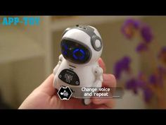 Voice Control Pocket Robot Intelligent Robot, The Voice, Pocket, Bag