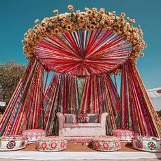 Planning your pre-wedding shoot? Here are some genius pre-wedding shoot ideas you could use with amazing backdrops. Check them out for inspiration. Wedding Hall Decorations, Desi Wedding Decor, Luxury Wedding Decor, Wedding Mandap, Engagement Stage Decoration, Marriage Decoration, Outdoor Wedding Venues, Wedding Receptions, Bouquet Wedding