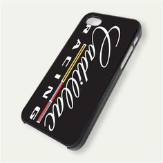 Cadillac Racing Logo iPhone 5 Case Cover FREE SHIPPING