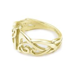 9ct Yellow Gold Fancy Ring Ortak Jewellery Unisex