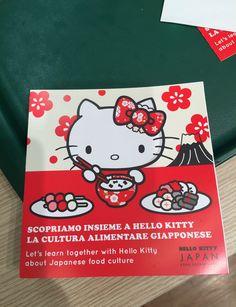 Japanese gastronomy tips by Hello Kitty x Mos Burger at #MilanoExpo2015 o(^_-)O