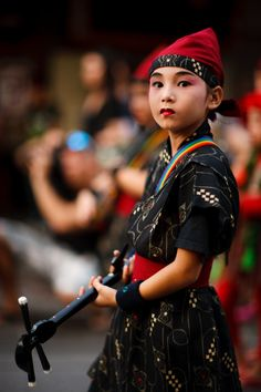 "tofuist: ""  Sanshin Performer by Tim Mason "" Sanshin performer. Okinawa, Japan. Photography by Tim Mason"