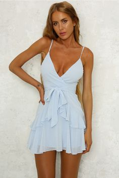 Ice Cold Dress Blue. Short Casual DressesWhite Dress CasualCute Summer ... 0fec236df