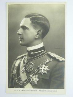 Prince Umberto di Savoy
