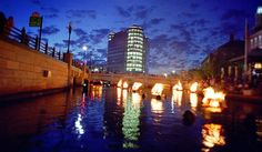 Providence WaterFires - a must see