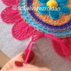 Lovely Stick Tutorial Comply with Moon Lam. Diy Embroidery Flowers, Floral Embroidery Patterns, Hand Embroidery Videos, Embroidery Stitches Tutorial, Embroidery Flowers Pattern, Creative Embroidery, Simple Embroidery, Learn Embroidery, Machine Embroidery Patterns