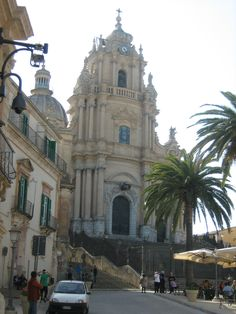 Ragusa, Sicily, the location for Inspector Montalbano, Italy's favourite detective.