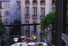Dining in Paris 🍾