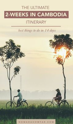 The Ultimate 2 Weeks Cambodia Itinerary: Best Things To Do In 14 Days : The Ultimate 2 Weeks Cambodia Itinerary: Best Things To Do In Only 14 Days Weeks Cambodia Itinerary, Cambodia Beaches, Cambodia Travel, Vietnam Travel, Asia Travel, Beach Travel, Wanderlust Travel, Thailand Travel, Laos