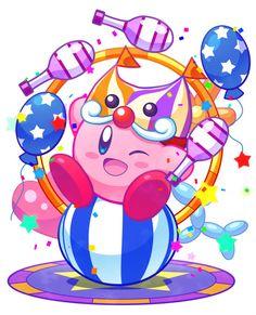"""girlslikematsuoka: """" Circus Kirby - Artist """""""